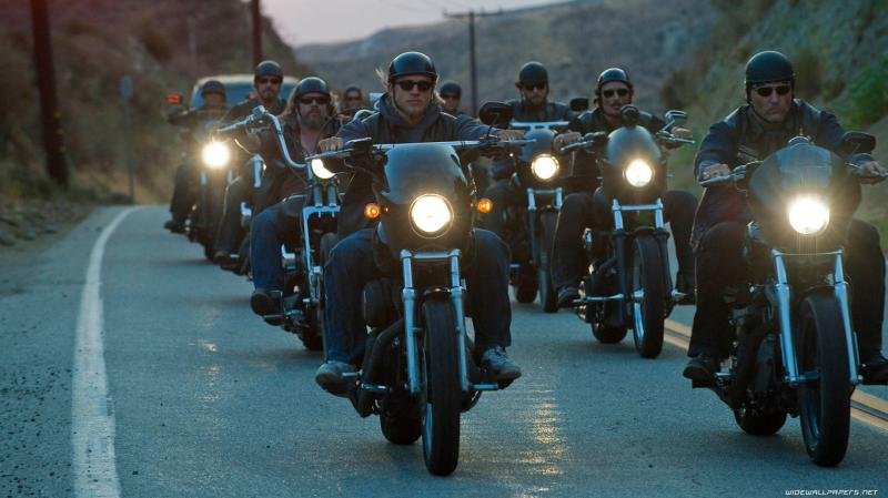 Wallpapers De Series Sons Of Anarchy La Mirada Del