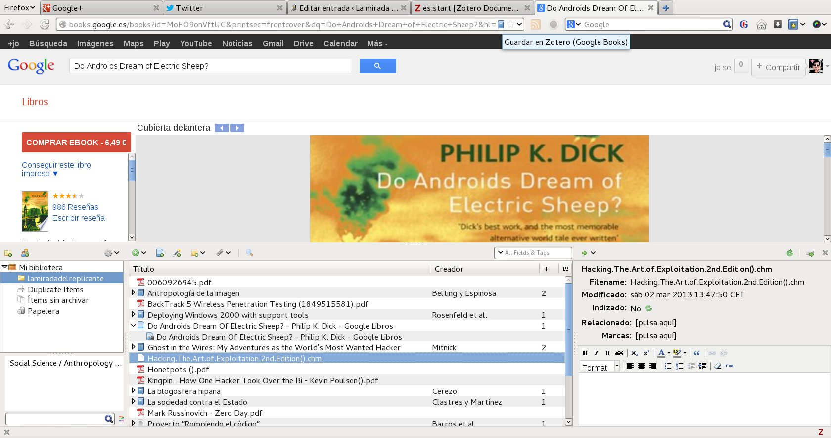 zotero_philip_k_dick
