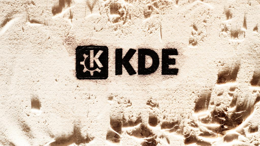KDE – permanent type by Marios Andreopoulos