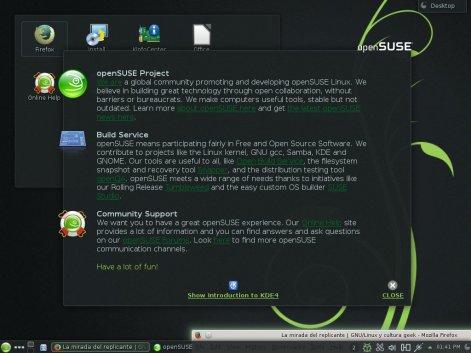 Nueva versión beta de #openSUSE 13.1 disponible para pruebas.