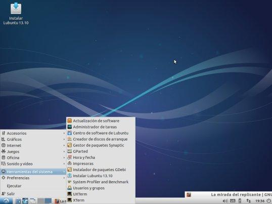 Lubuntu 13.10   Un vistazo a las novedades