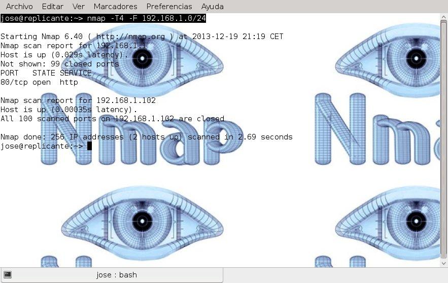 konsole_nmap