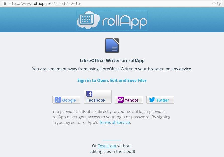 Ya es posible correr LibreOffice en IPad, Chromebooks o